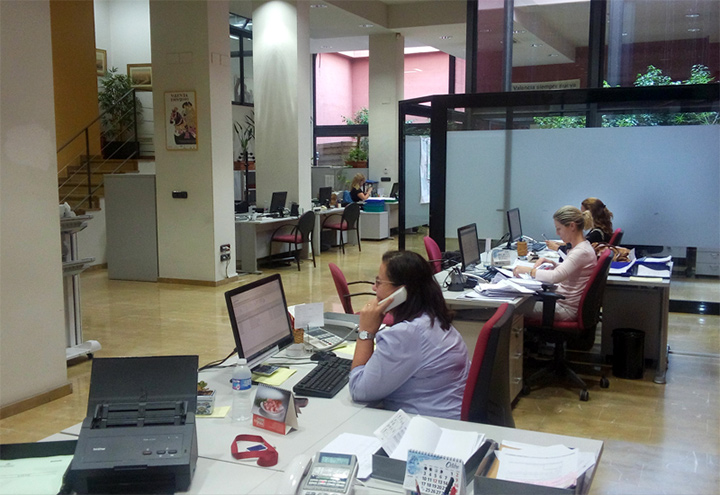 Ocoval for Iberdrola oficinas valencia
